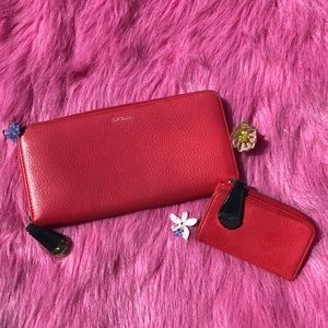 🔥COMBO Pink Paul Smith Wallet and keyholder